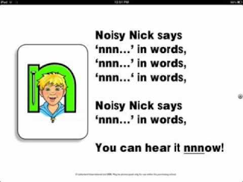 Naughty Nick Letterland Full HD Song - YouTube