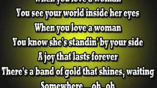 Journey - When You Love A Woman lyrics.