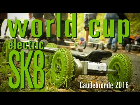 Electric skateboard world cup 2016- Caudebronde - France