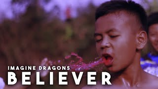 BELIEVER - IMAGINE DRAGONS (cover video by BOCAH)