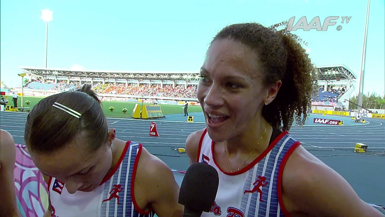 IAAF World Relays Bahamas 2014 - Mixed Zone 1 Lap Race ...