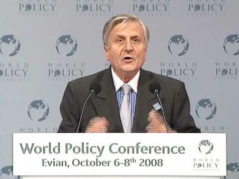Jean-Claude Trichet - Plenary session Part 1
