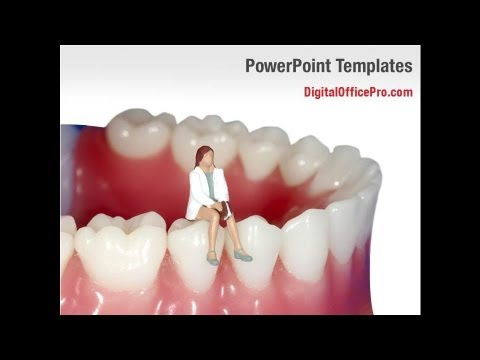 Dentist Powerpoint Template Backgrounds Digitalofficepro 03114