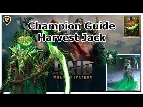RAID Shadow Legends | Champion Guide | Harvest Jack