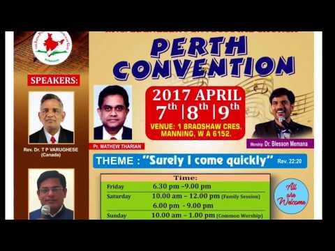 Ebenezer Pentecostal Church Convention, PERTH 2017