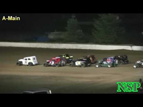 August 27, 2016 PHRA Dwarf Cars A-Main Grays Harbor Raceway
