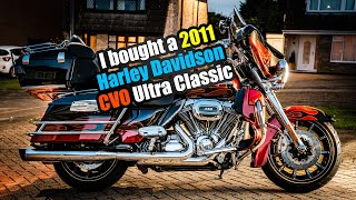 I bought a Harley Davidson CVO Electra Glide Ultra Classic 2011 - FLHTCUSE6