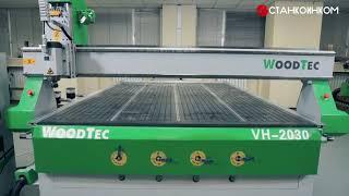 видео Фрезерно-гравировальный станок с ЧПУ WoodTec VH-1625