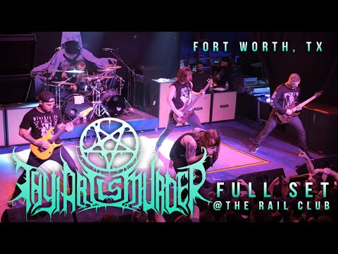 THY ART IS MURDER - Full Set {HD} LIVE 2016 @ The Rail Club