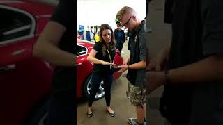 Facebook LIVE - TPMS tool giveaway, Rolling Meadows High School, Illinois
