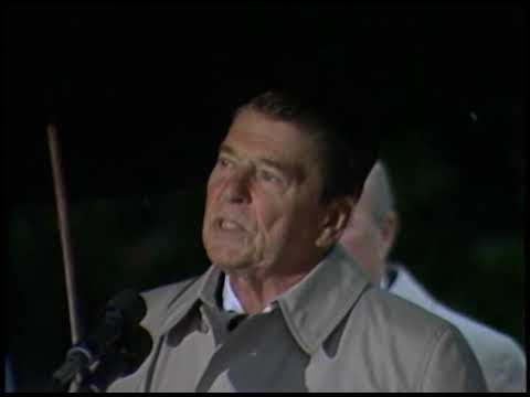 President Reagan's Remarks on Marine Barracks Bombing in Lebanon on October 23, 1983