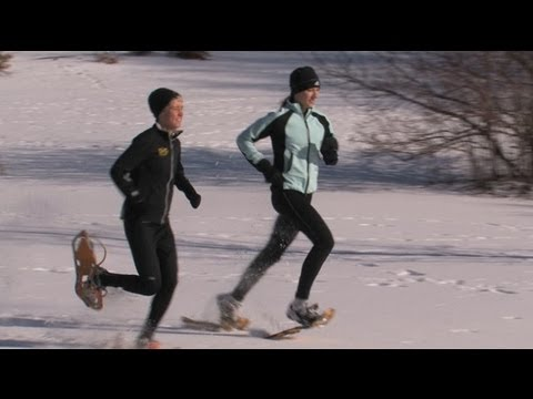 Snowshoeing with Erin Ward