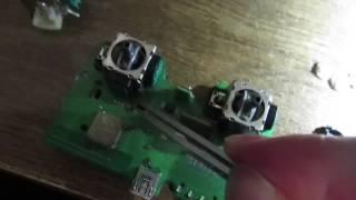 Как починить стики на геймпаде без паяльника