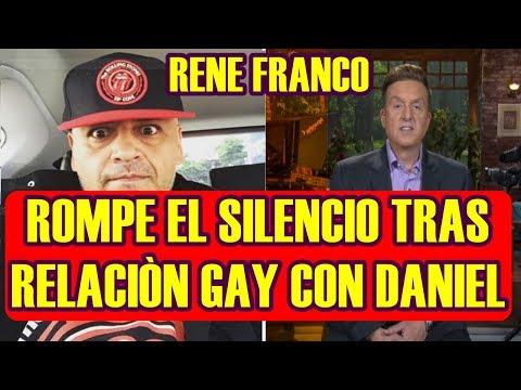 RENE FRANCO ESTALLA Y EXPLICA Supuesta RELACIÓN GAY Con DANIEL BISOGNO