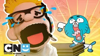 Toony Youtube | Beklenti vs Reality: Gumball ve karate | Cartoon Network