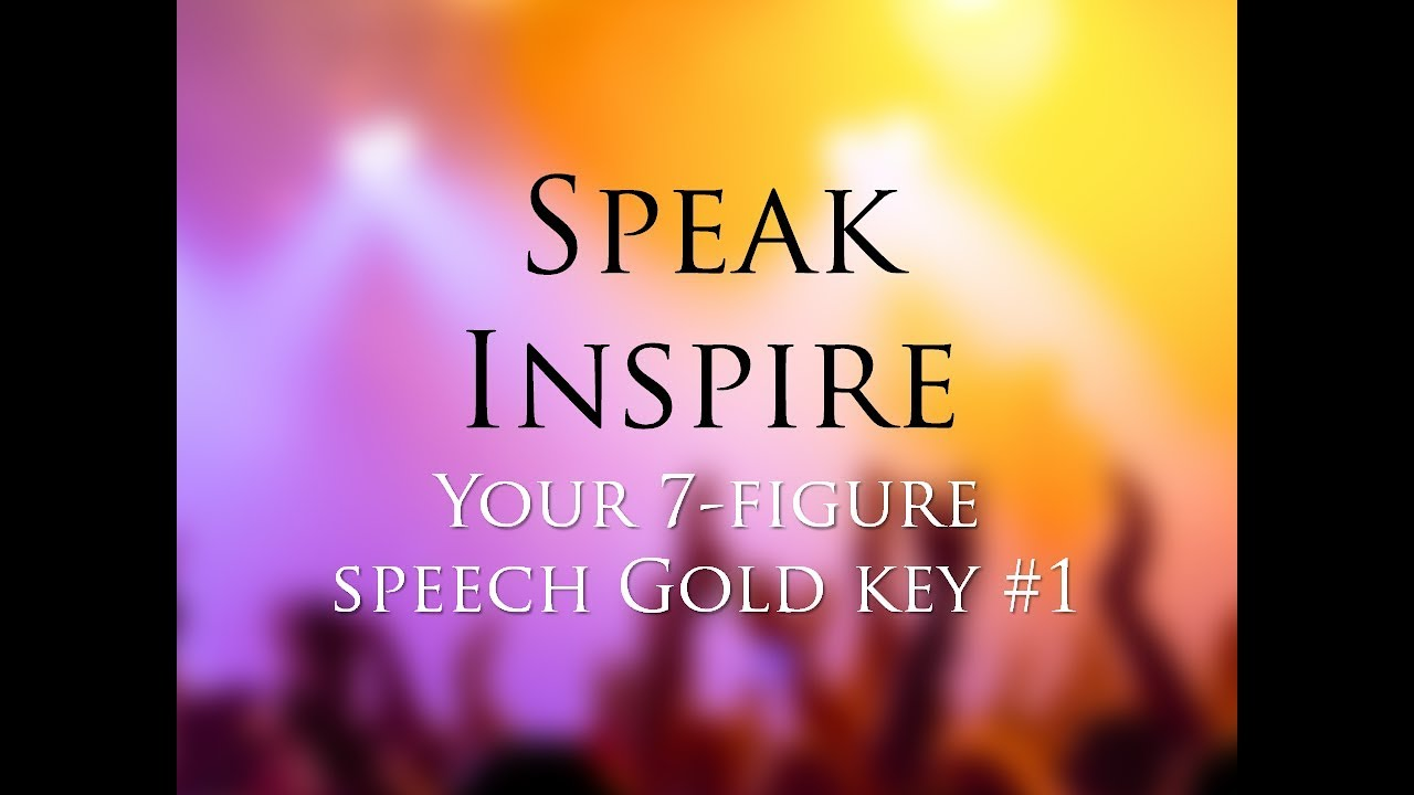 Become a Motivational Speaker & Earn $100,000 / Hour  How to