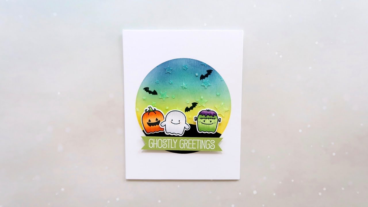 8ba9c2d0 Fab-BOO-lous Halloween Card Ft. My Favorite Things - YouTube