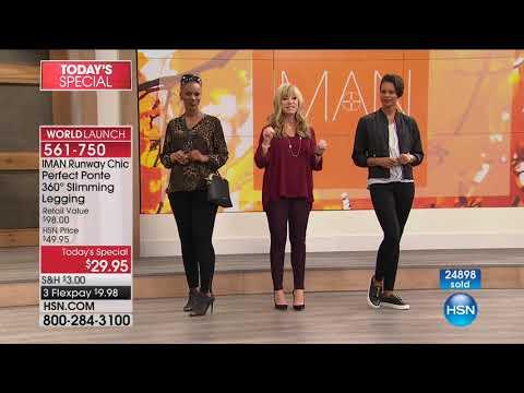 HSN   IMAN Global Chic Fashions 09.30.2017 - 01 AM