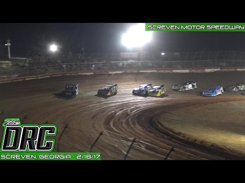 Screven Motor Speedway | 2.18.17 | #WinterFreezeVII | World of Outlaws Late Models | Feature