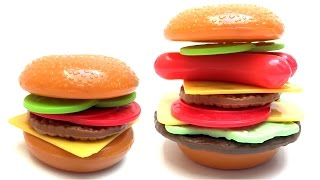 Hamburgers Diy Make Your Own Burger Toy Food Toy Cutting Food Just Like Home Toys
