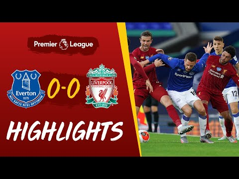 Highlights: Everton 0-0 Liverpool | Stalemate at Goodison | Authentic stadium audio