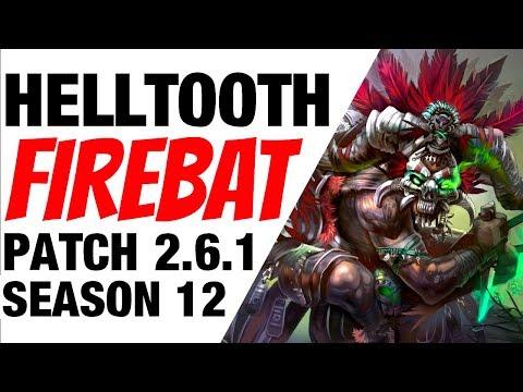 Patch 2.6.1 Helltooth Firebat Witch Doctor Season 12