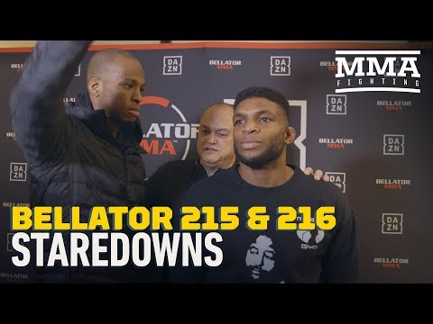 Bellator 215, 216 Media Day Staredowns - MMA Fighting