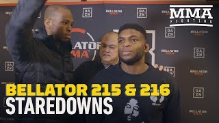Bellator 215, 216 Media Day Staredowns - MMA Fighting