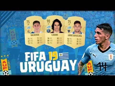 ¡URUGUAY en FIFA 19! - Predicción de Medias ULTIMATE TEAM   SUAREZ, CAVANI, TORREIRA, NANDEZ Y MÁS!