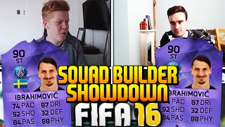 One of Jack54HD's most viewed videos: FIFA 16 SQUAD BUILDER SHOWDOWN WITH HERO IBRAHIMOVIC!!! 90 RATED INSANE PLAYER!