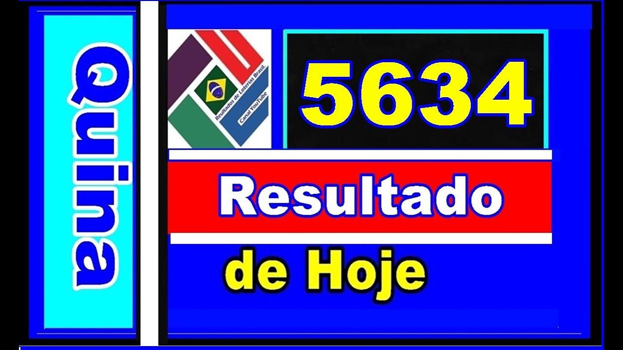 Download Quina 5634 - Resultado da Quina Concurso 5634