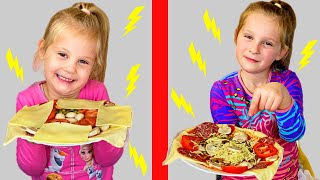Telepatija Pizza Challenge. Pogodi pravu namirnicu.