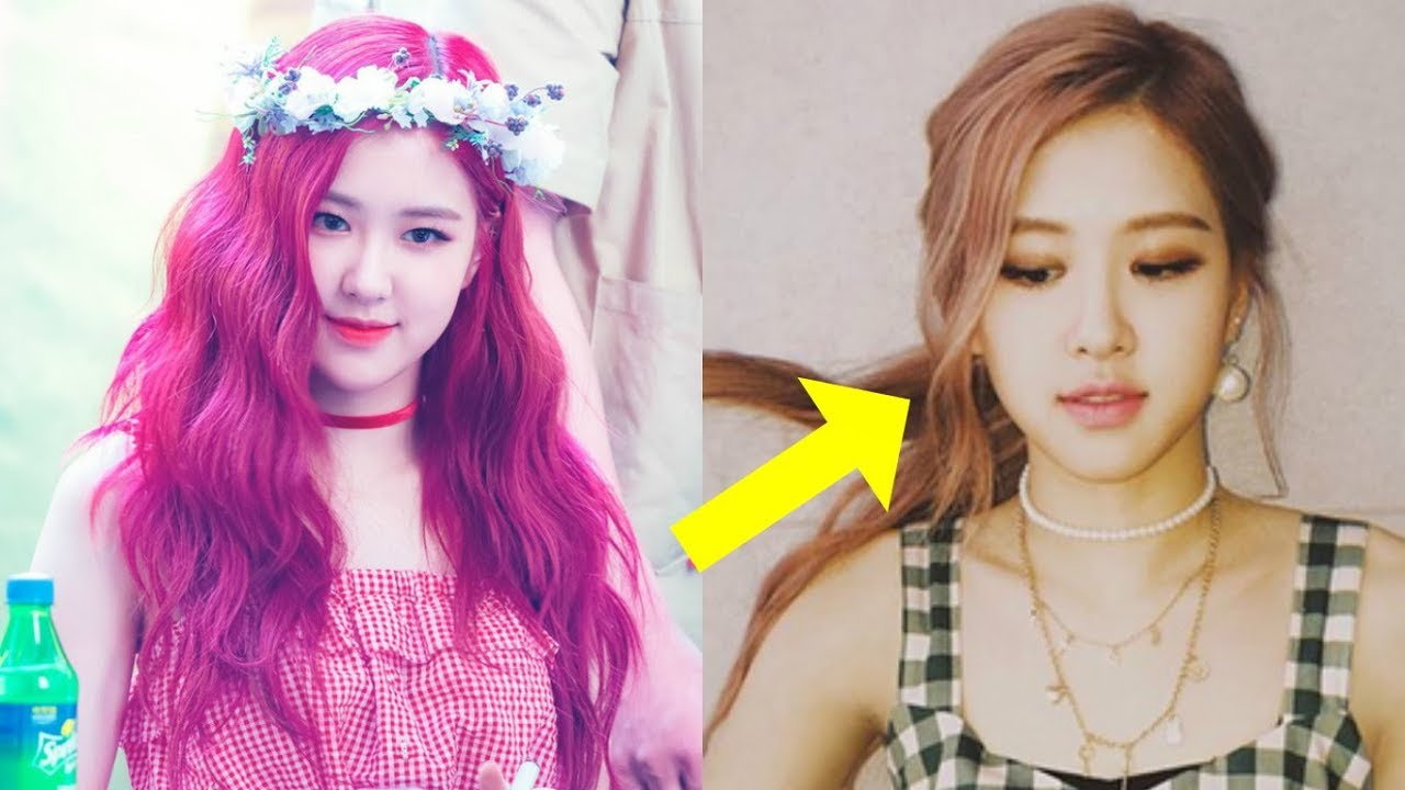 Blackpink S Rose Shocked Everyone With Her New Hairstyle Youtube