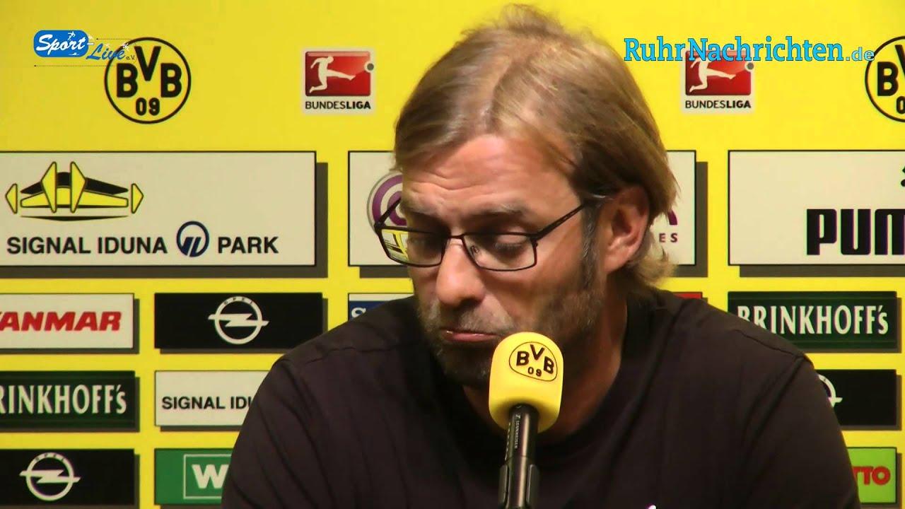 BVB Pressekonferenz vom 30. August 2012 vor dem Spiel 1. FC Nürnberg - Borussia Dortmund