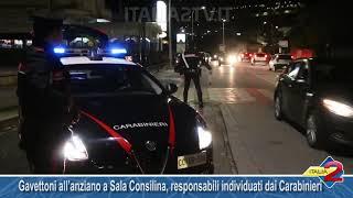 Gavettoni all'anziano a Sala Consilina, responsabili individuati dai Carabinieri