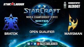 2019 WCS Winter Open Qualifier 1 Match 5: BratOK (T) vs Marsman (P)