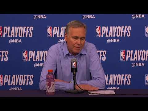 Mike D'Antoni Postgame Interview | Rockets vs Timberwolves - Game 4 | 2018 NBA Playoffs