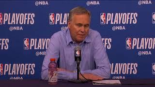 Mike D'Antoni Postgame Interview | Rockets vs Timberwolves - Game 4 | 2018 NBA Playoffs