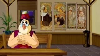 Сказки картинной галереи - Альфонс Муха (50 серия) (Уроки тетушки Совы)