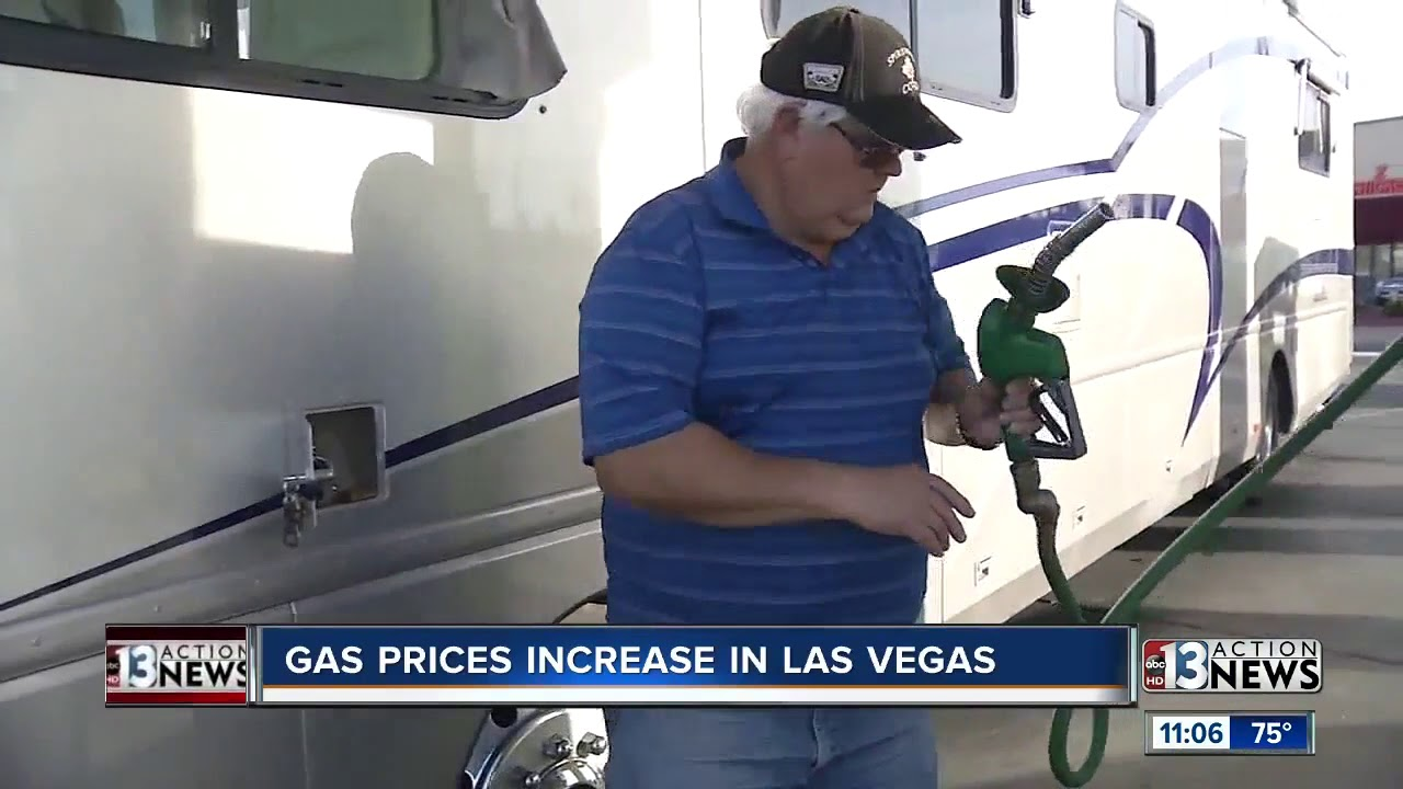 Las Vegas Gas Prices Increase 6 9 In The Past Week Youtube