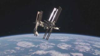 Space Shuttle Endeavour and ISS Orbit Together HD