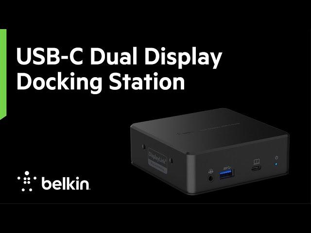 USB-C Dual Display Docking Station