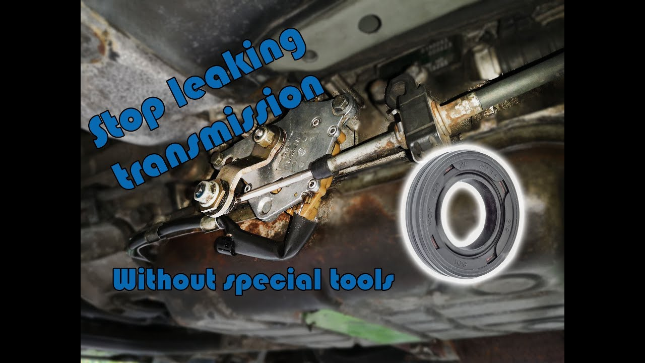 How to replace BMW ZF automatic transmission Shift Shaft Seal (5HP-24)