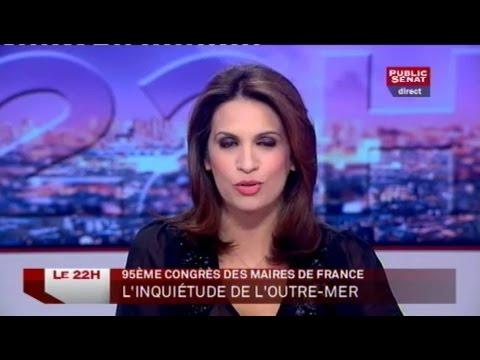 Invités: François D'Orcival et Carole Barjon - Le 22H (19/11/2012)