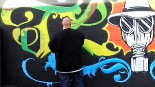ArtPrimo.com graffiti supplies presents: A day with TLOK TKO. Live ...