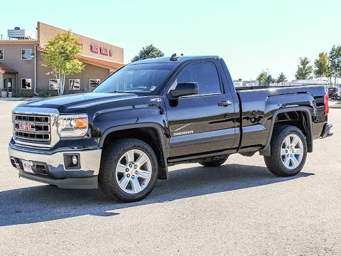 2015 gmc sierra 1500 regular cab sle pickup truck stock 5u160832 transwest truck trailer. Black Bedroom Furniture Sets. Home Design Ideas