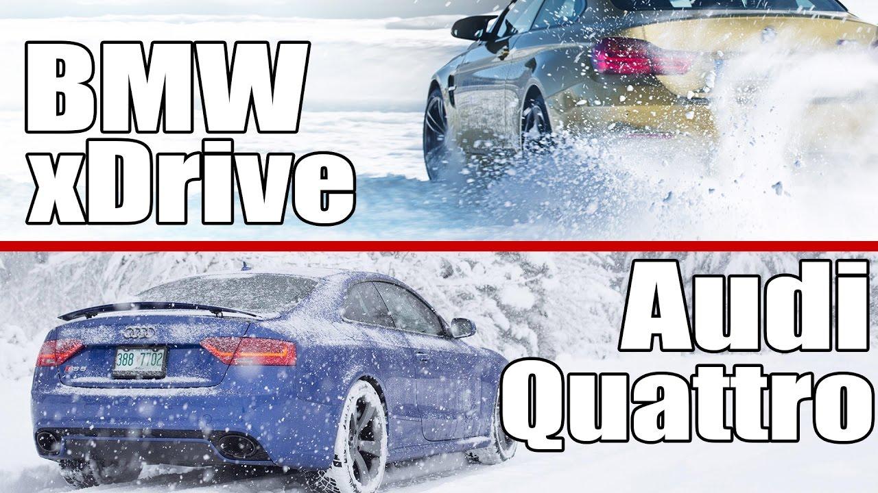 Audi Quattro Ve Bmw Xdrive Nasıl 199 Alışır Farkları Nedir