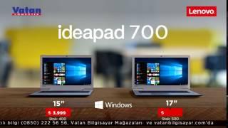Windows 10'lu Lenovo bilgisayarlar çok özel fiyatlarla Vatan'da!