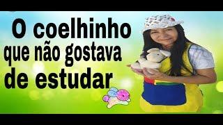 História: O coelhinho que não gostava de estudar| Tia Kaká