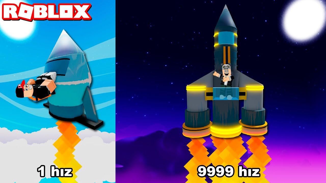 Güçlü ve Hızlı Roket Alıp Uzaya Çık!! - Panda ile Roblox [ RoboX ] Rocket Simulator
